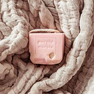 handmade vagan soap by purple marble uk