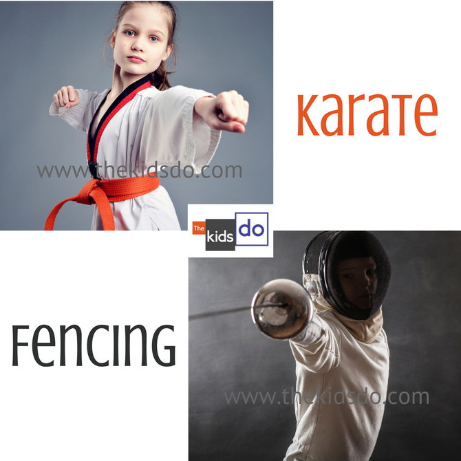 Karate Kid or Fencing Fanatic?