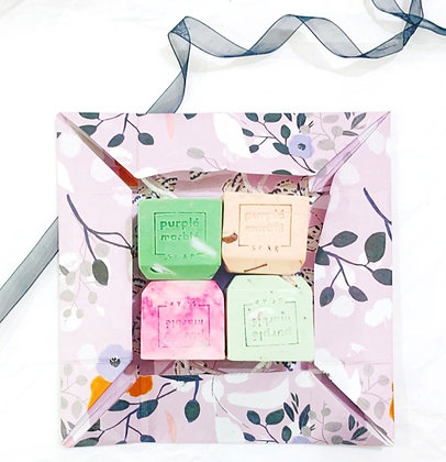 Made for Love Gift Box | 4 x Bar Soap