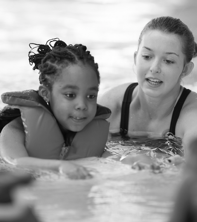 Kids activity swimming