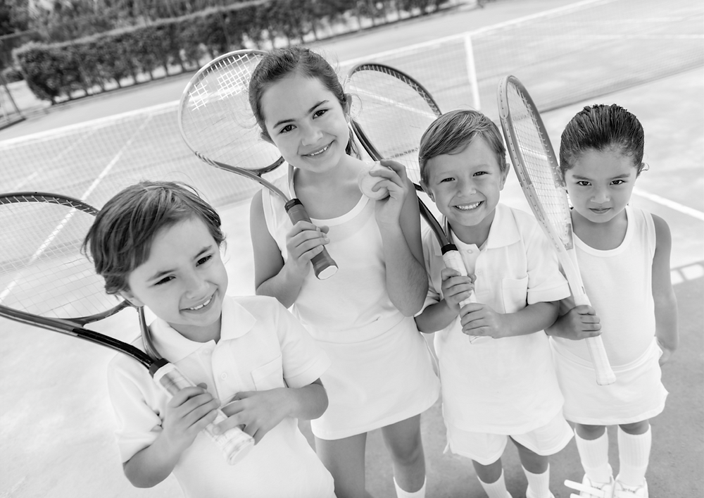 Children activity Tennis