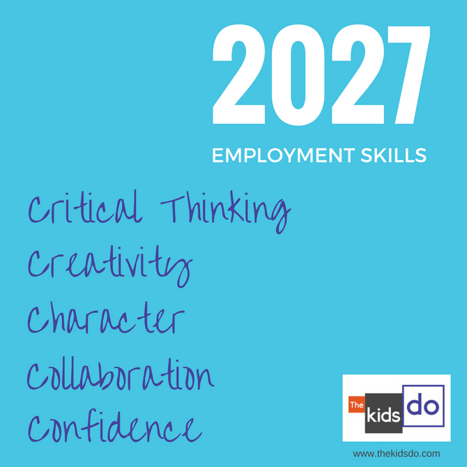 Soft Skills or STEM? What skills will our children need in their future employment?
