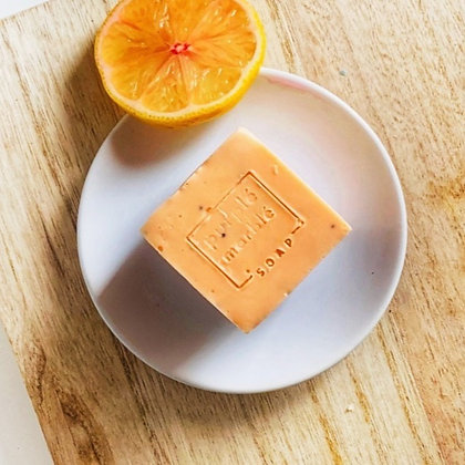 Orange + Papaya Seeds