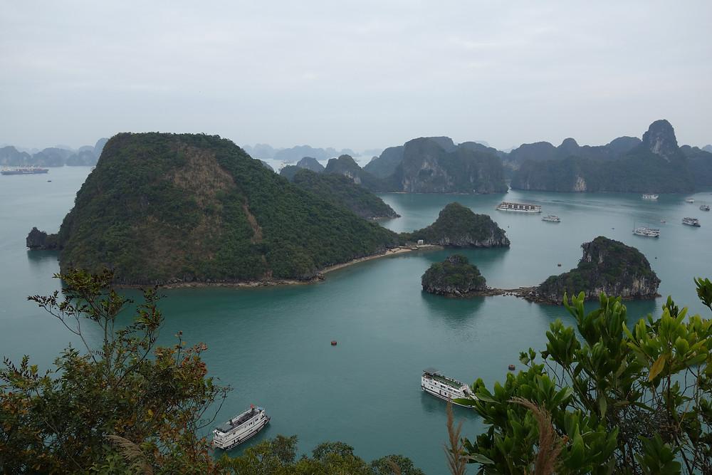 Halong Bay depuis Ti Top Island