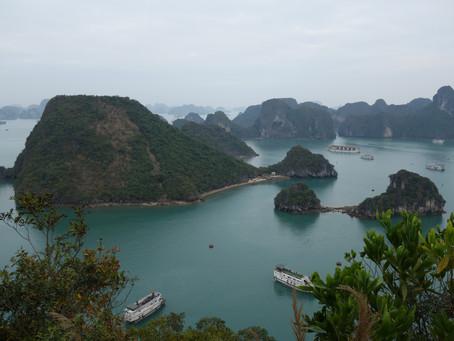 Halong Bay : petite merveille !