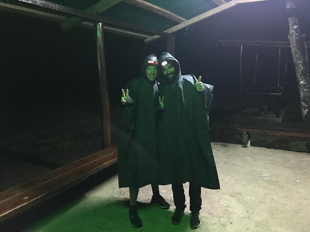 Départ pour le Machu sous la pluie