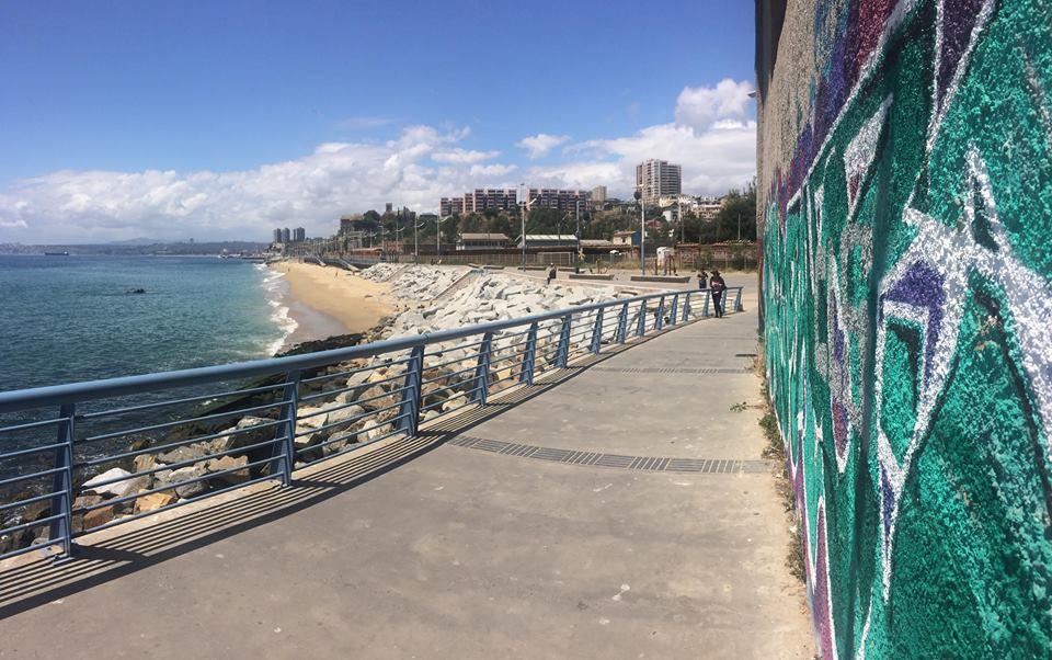 plage de valparaiso