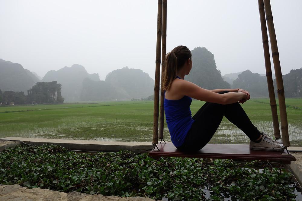 Mua Caves vue sur les rizières