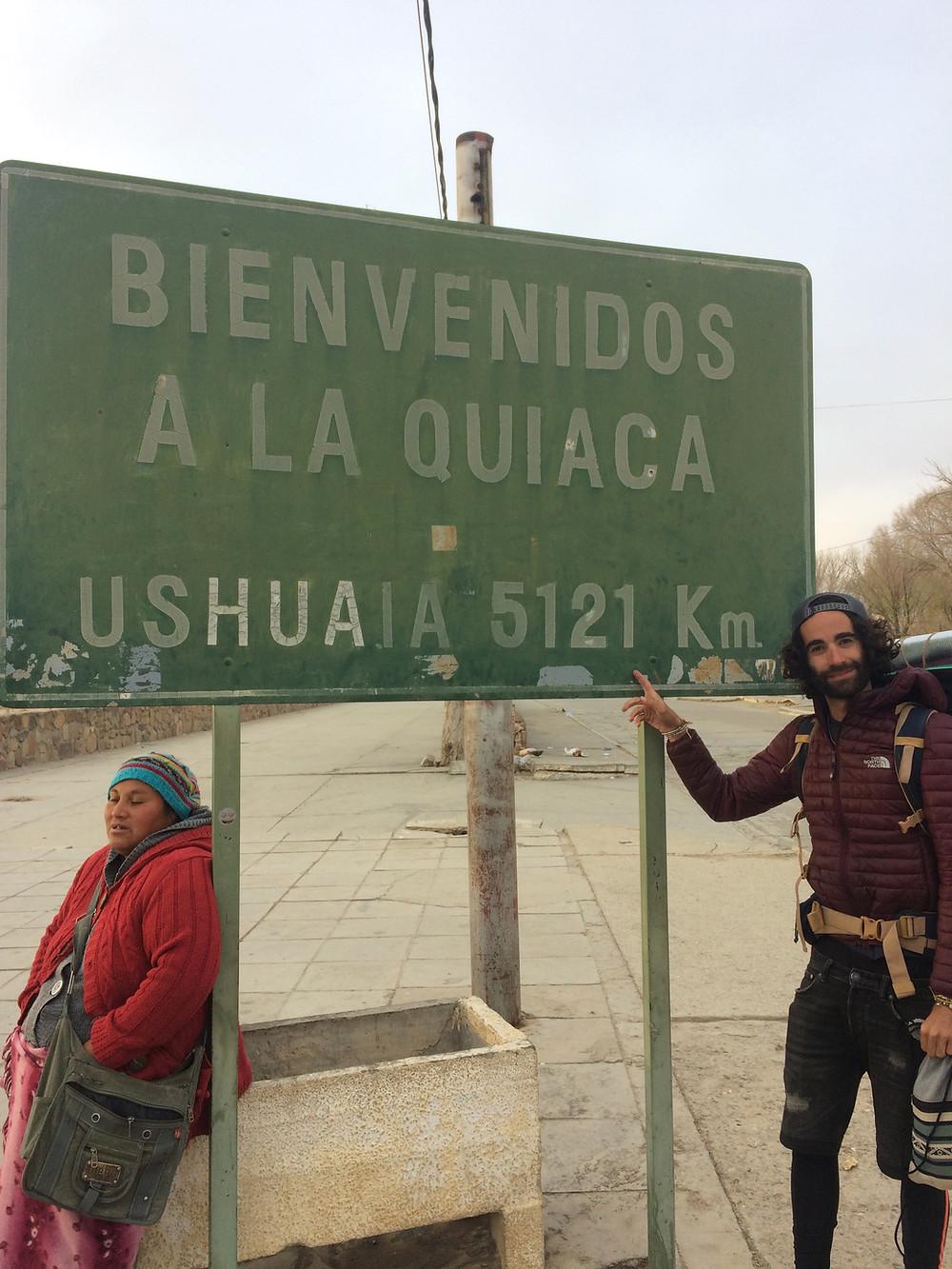 Point de départ : la quiaca
