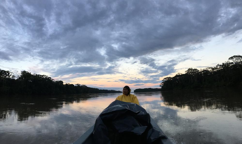 passage de l'Equateur au Pérou