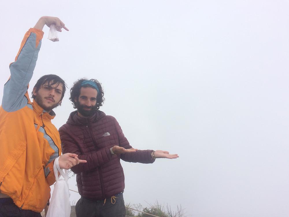 Vue depuis la montahne Picchu