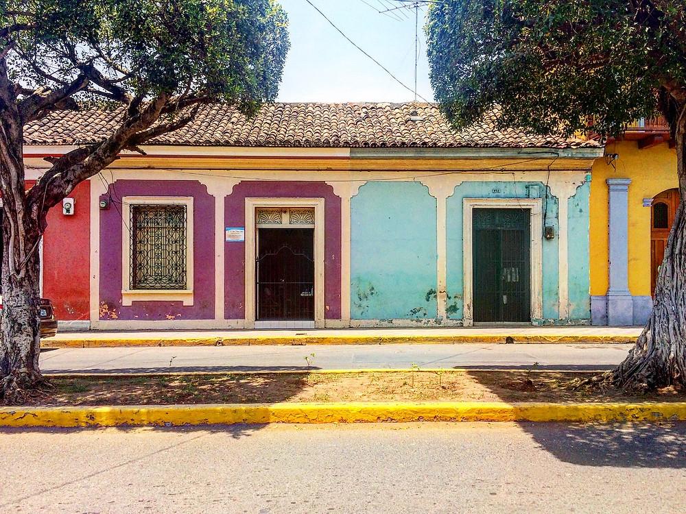 murs colorés de granada