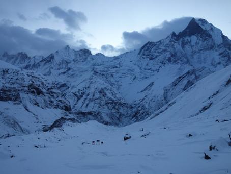 Trek dans l'Himalaya : Annapurna Base Camp