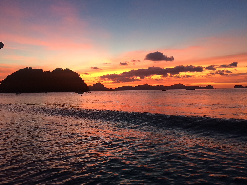 coucher de soleil Cabanas