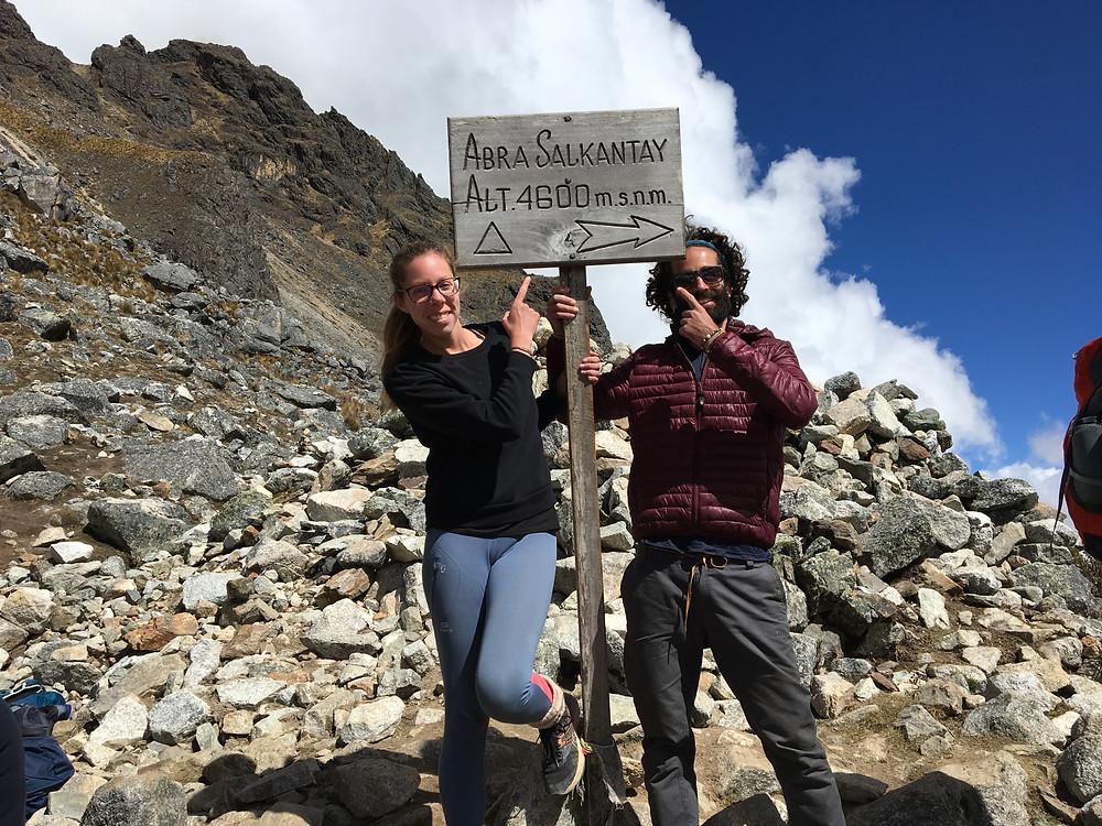 Au sommet du Salkantay