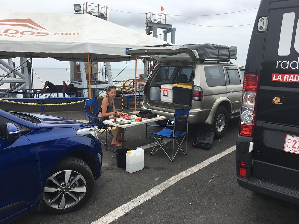 Puntarenas, en attendant le ferry