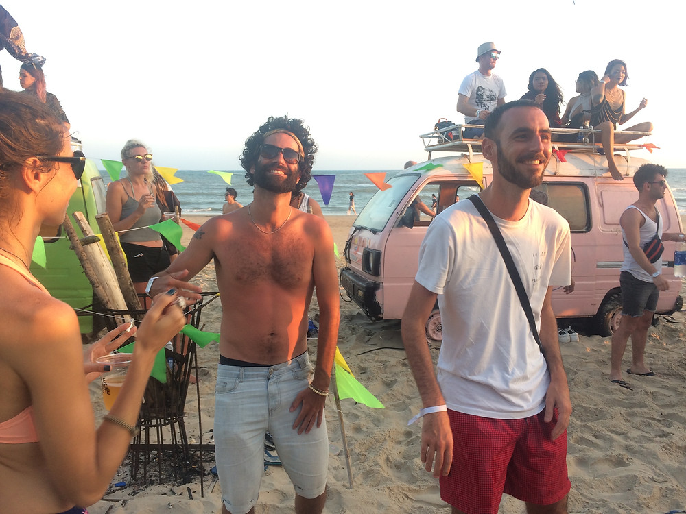 vibe nation beach fest avec Julien
