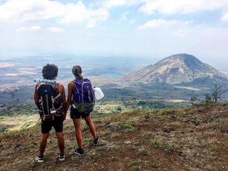 Léon : faire de la luge sur le Cerro Negro et camper au milieu des volcans