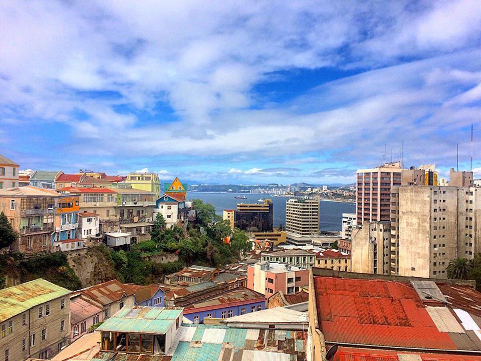 valparaiso, vue sur le port