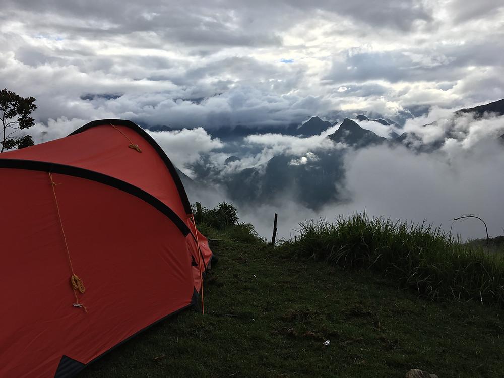 Llactapala camping - salkantay trek jour 3