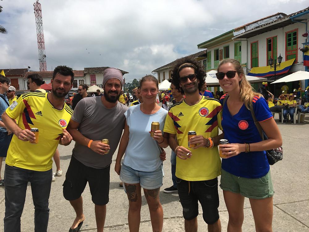 match de foot colombie