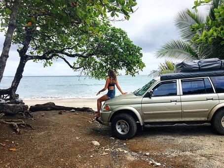 Notre traversée du Costa Rica en 4x4 et camping sauvage