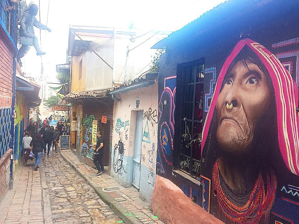 Bogota - candelaria tag
