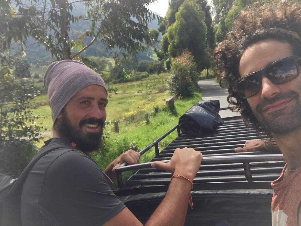 trajet en jeep