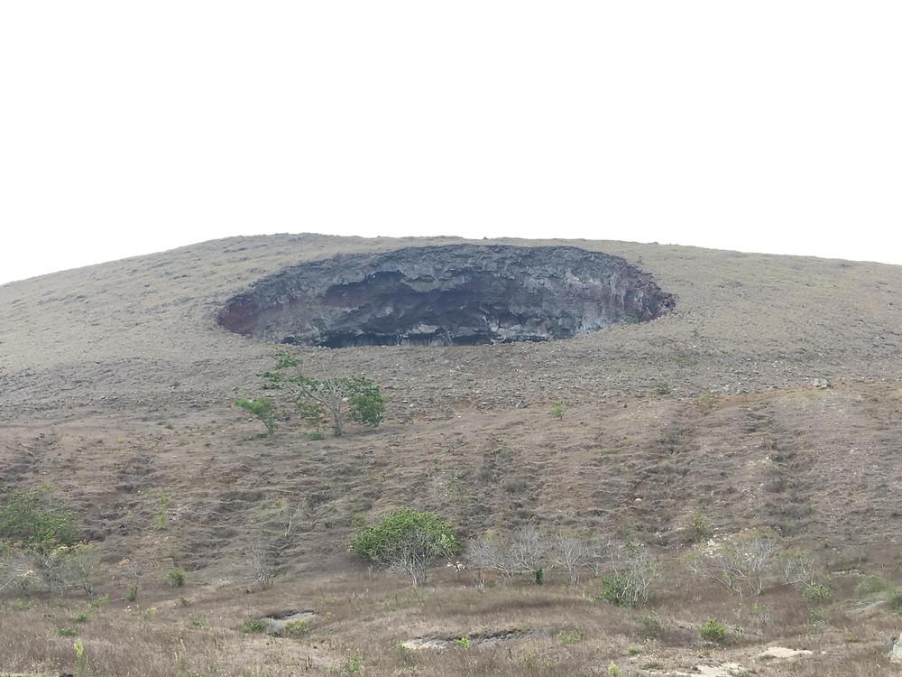 trou volcan hoyo