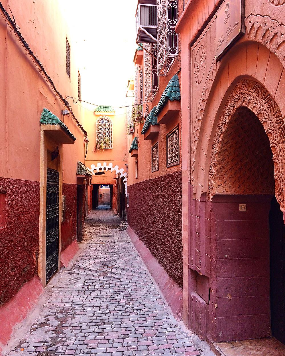 Marrakech - les ruelles