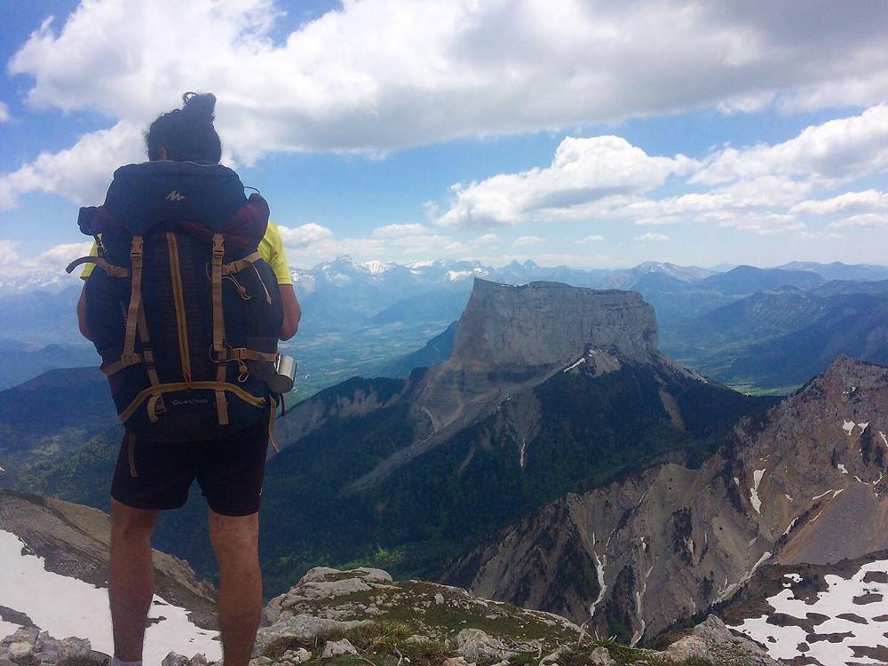Traversée du Vercors, Mont Aiguille