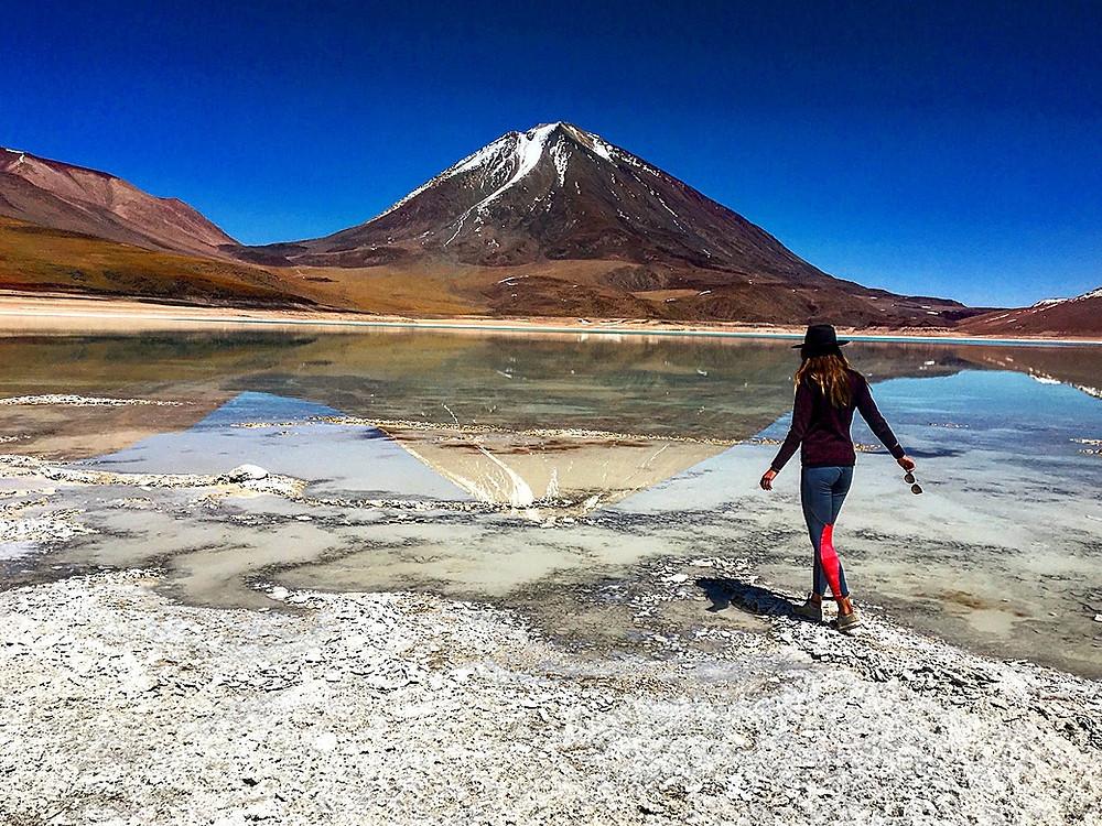 sud lipez face au volcan, laguna verde