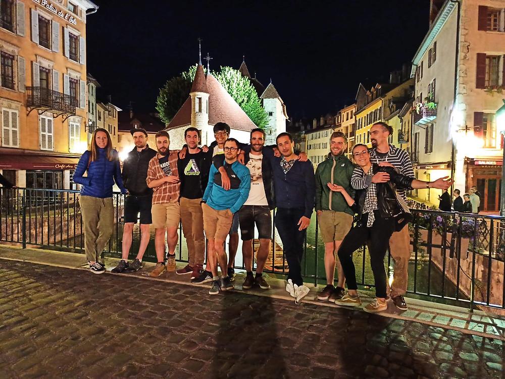 WE entre amis à Annecy