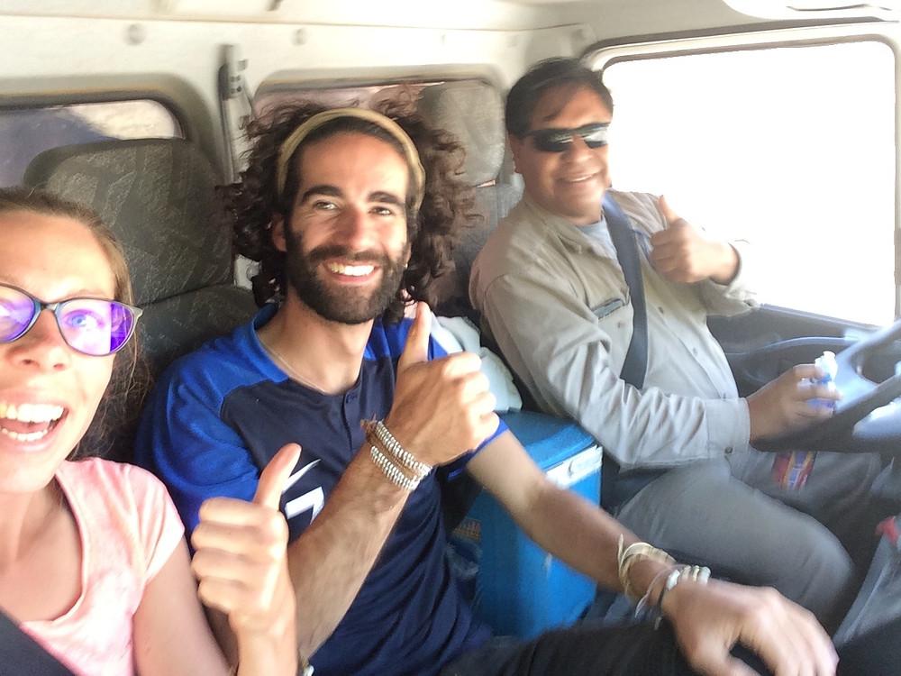 Notre premier stop en Argentine