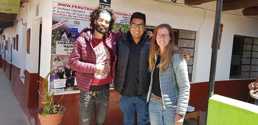 Edson, notre chef pendant notre séjour à Atawkama Hostel !