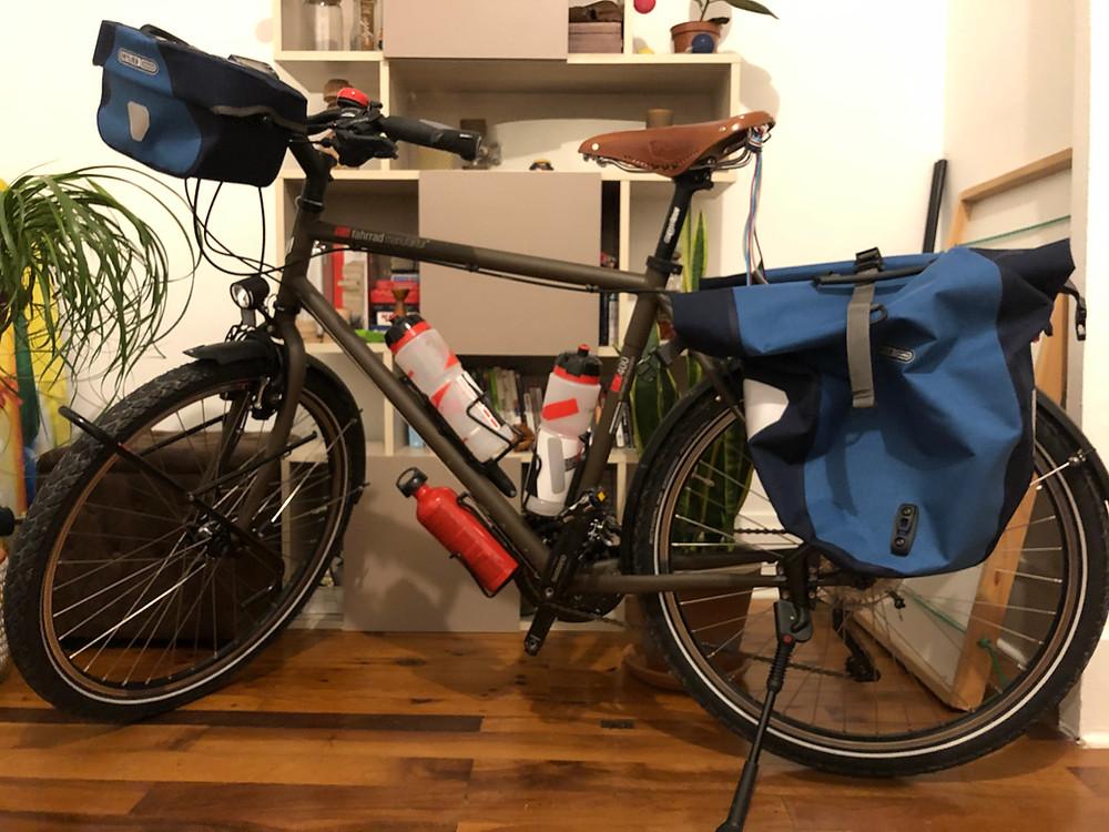vélo tx400 pour voyager