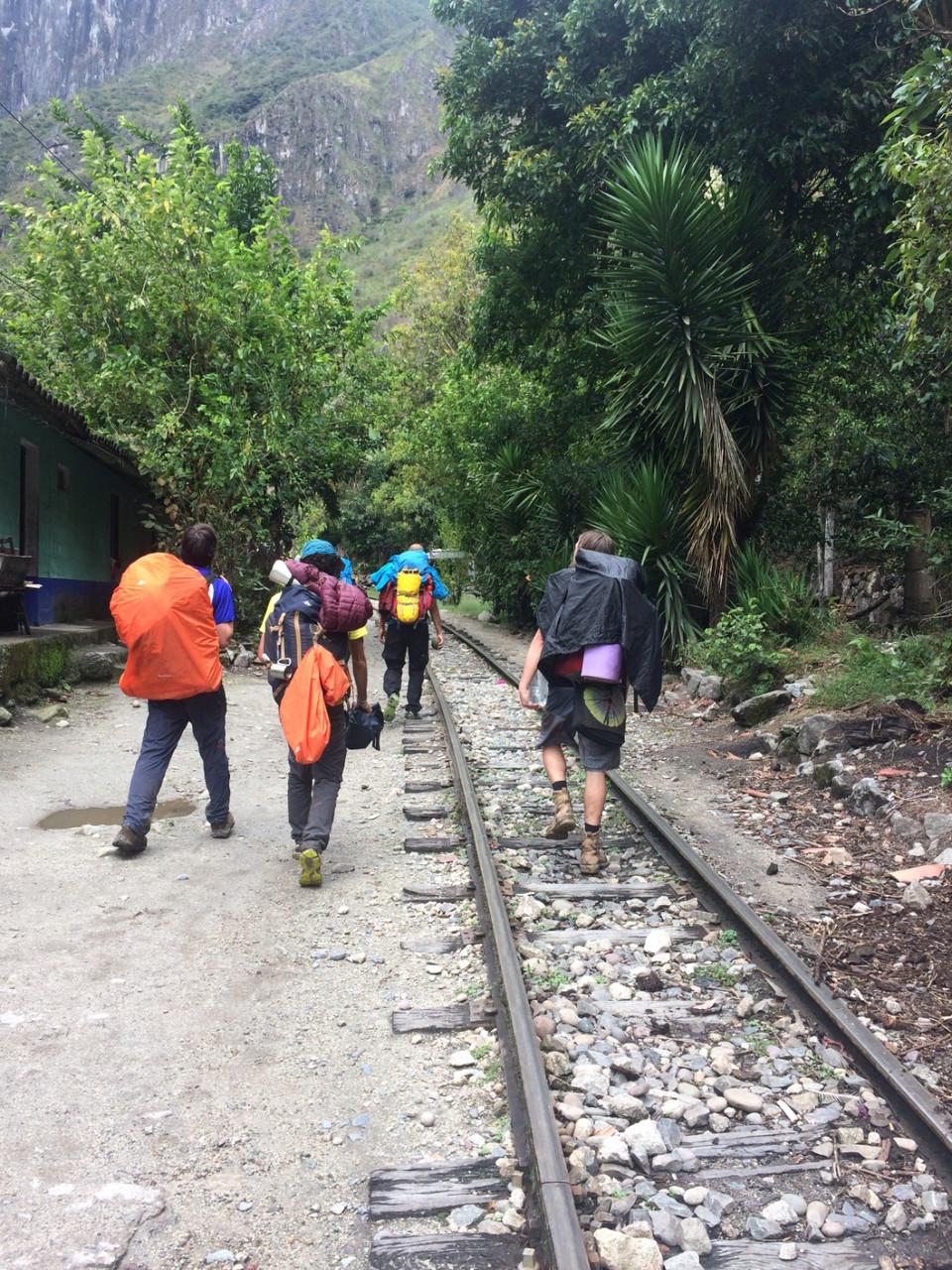 Salkantay Trek - Train hydro