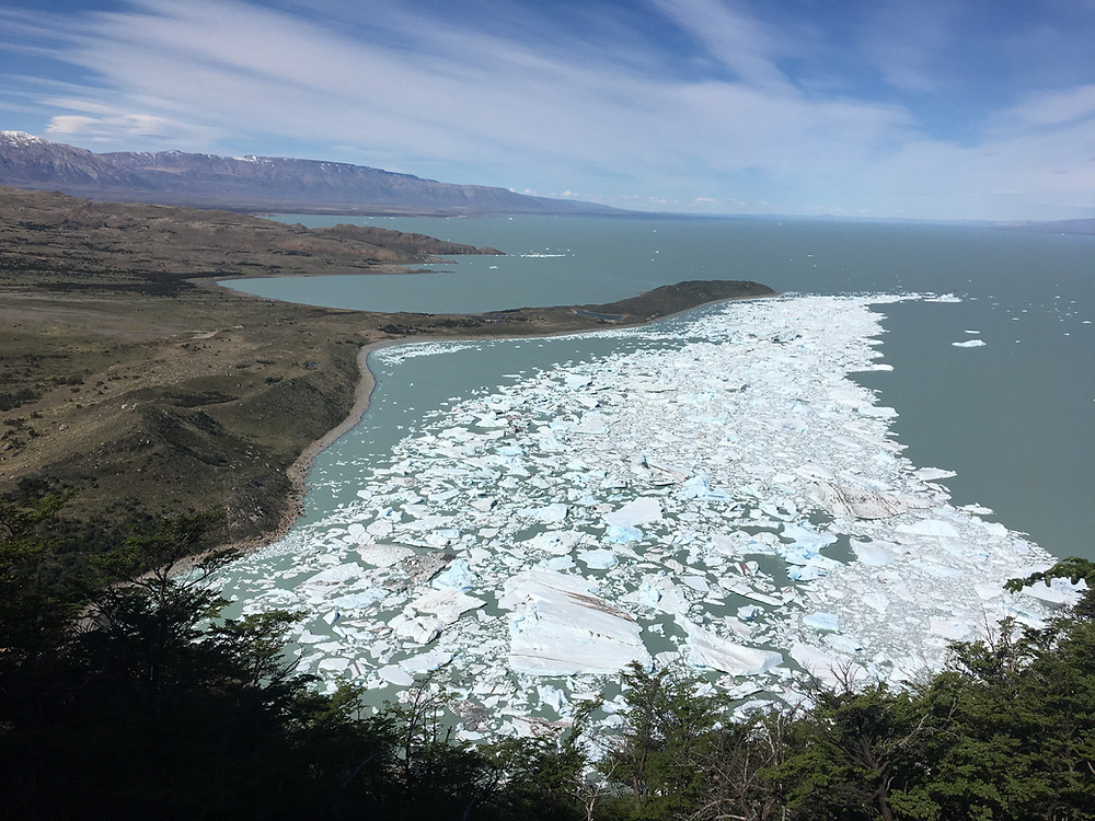 iceberg dans le lac viedma