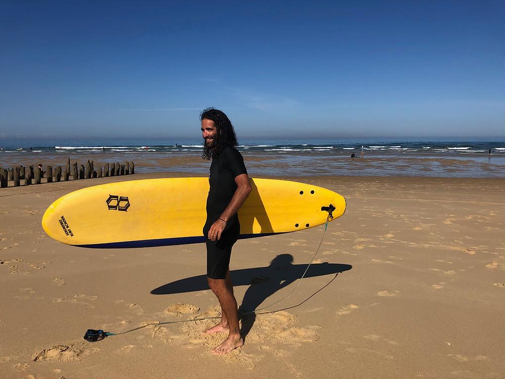 Fab en surfeur