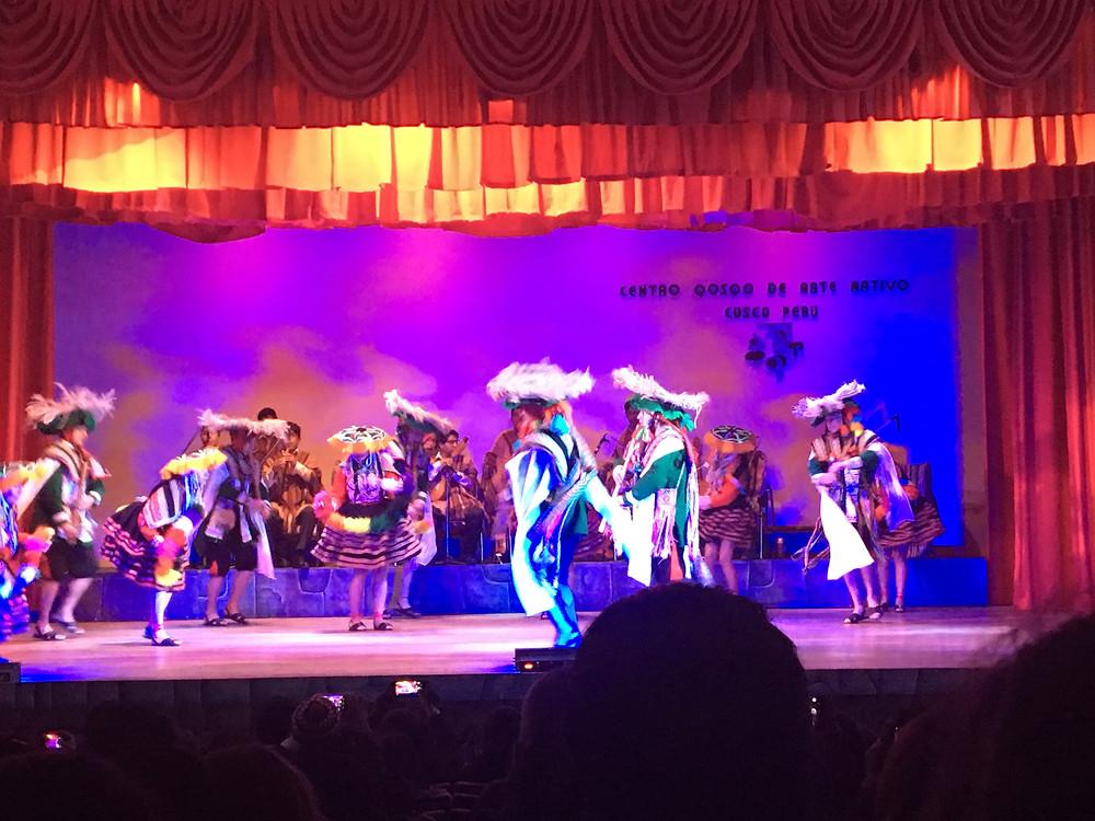 spectacle de danse arte nativo