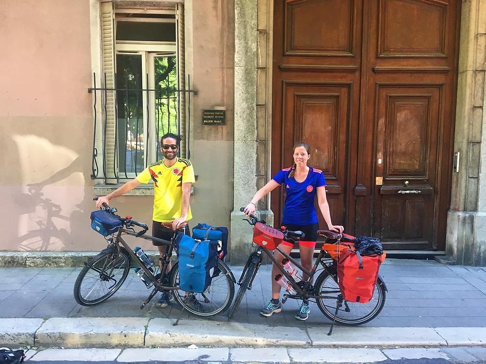 Départ pour 5 jours de vélo direction le Vercors et Montélimar en bikepacking