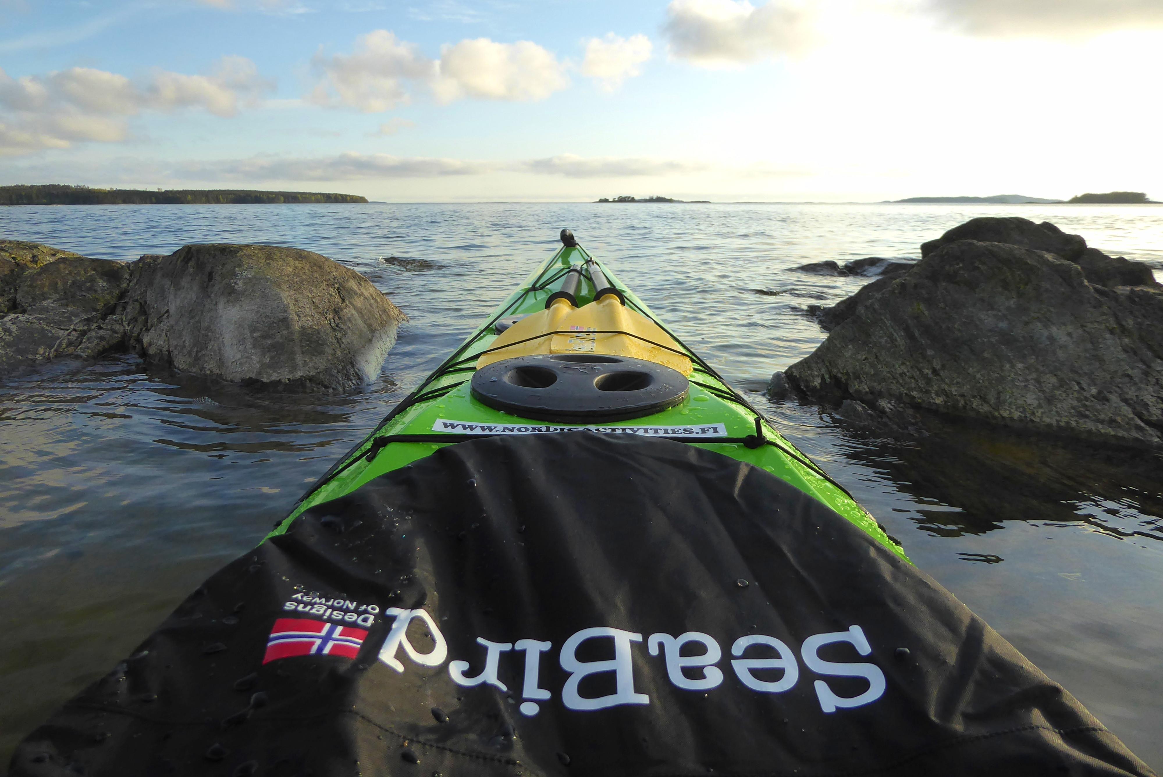 Sea kayak basics & boat handling course
