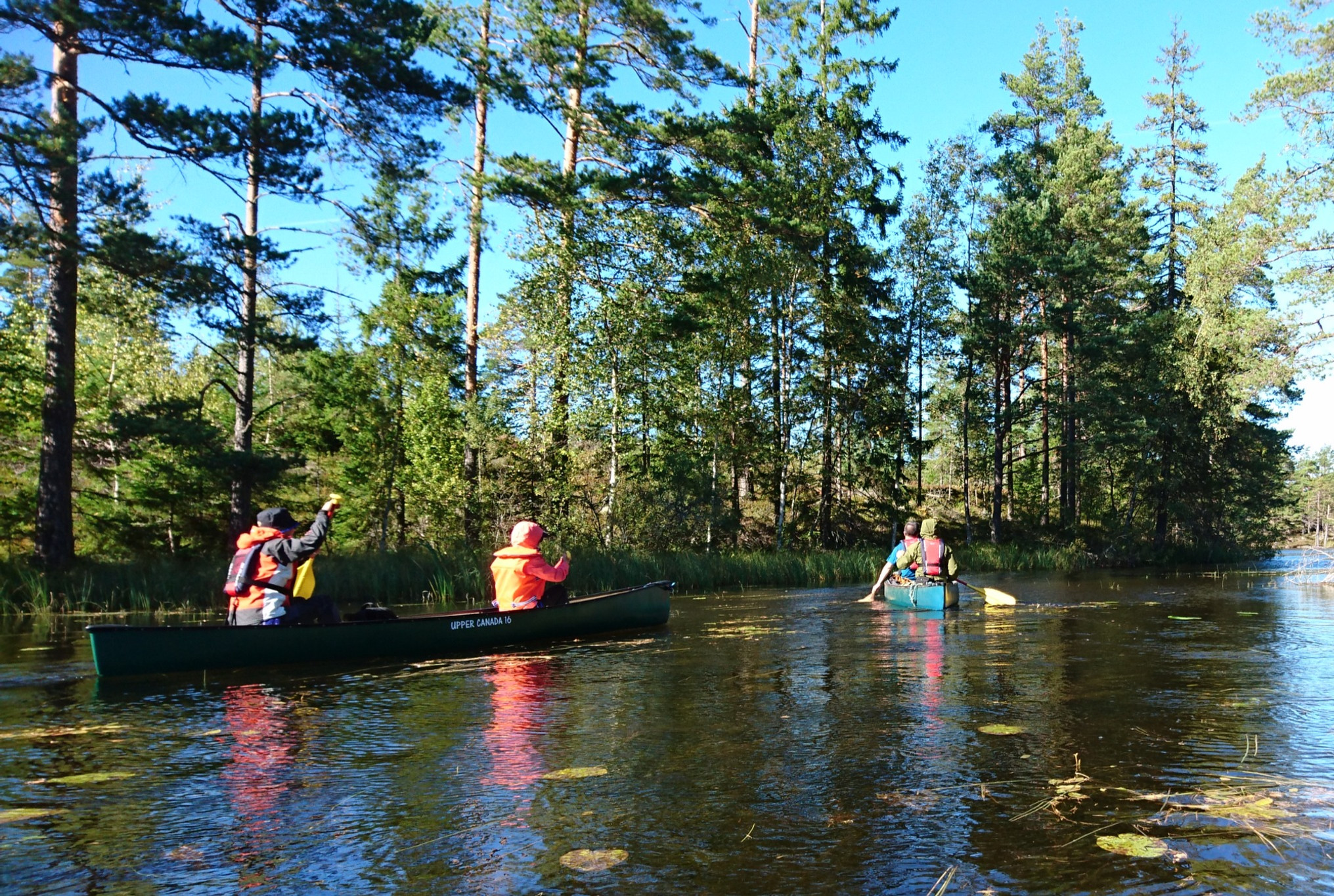 Canoeing, Stora Masungsträsket