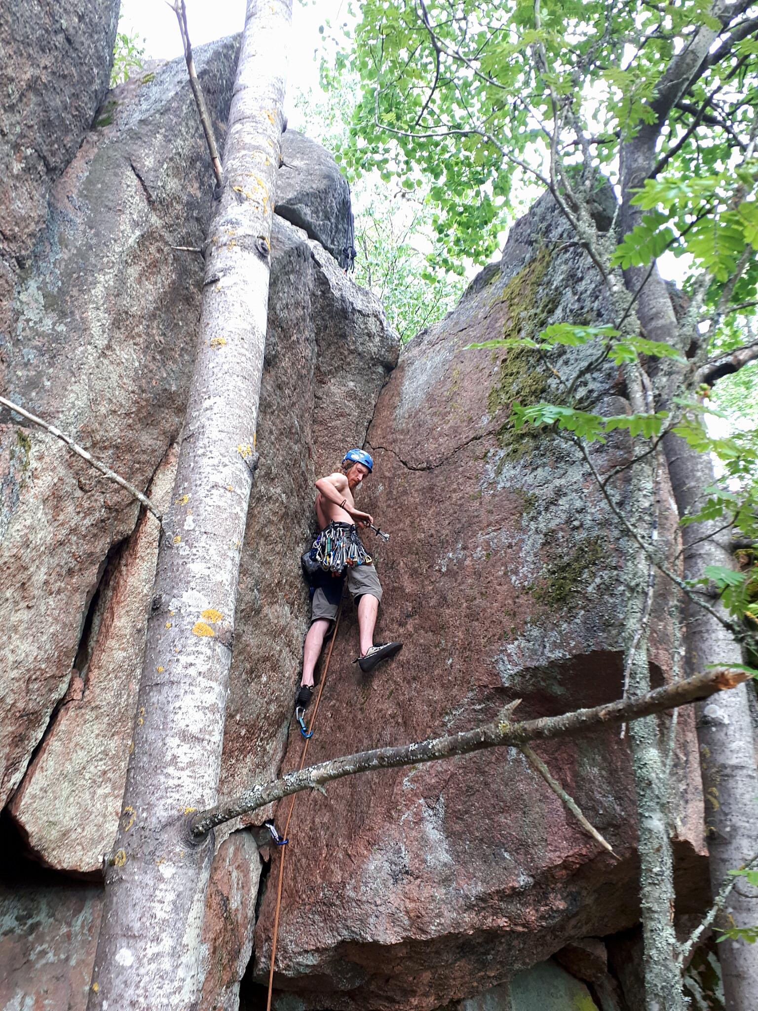 Rock climbing basics (private course)