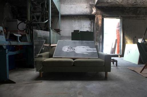 Liv Dysthe Sønderland, Nødinnganger, exhibition in old factory-buildings at Sjøholt, Norway. Photography: Vilde Livsdatter