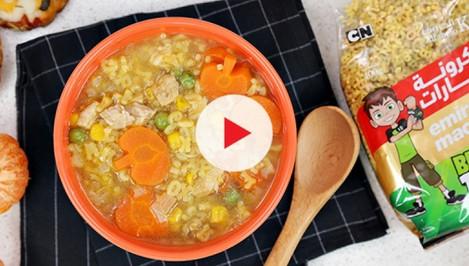 Chicken Alfabeto Soup