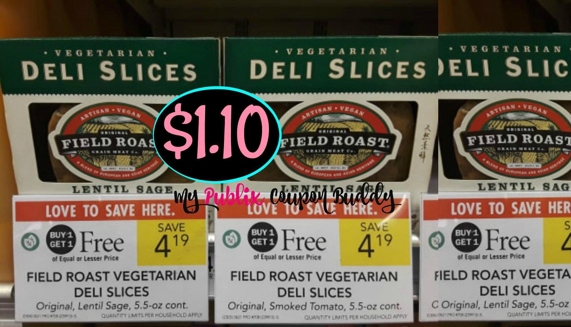 a6042cfb75f4 Field Roast Vegetarian Deli Slices  1.10 at Publix