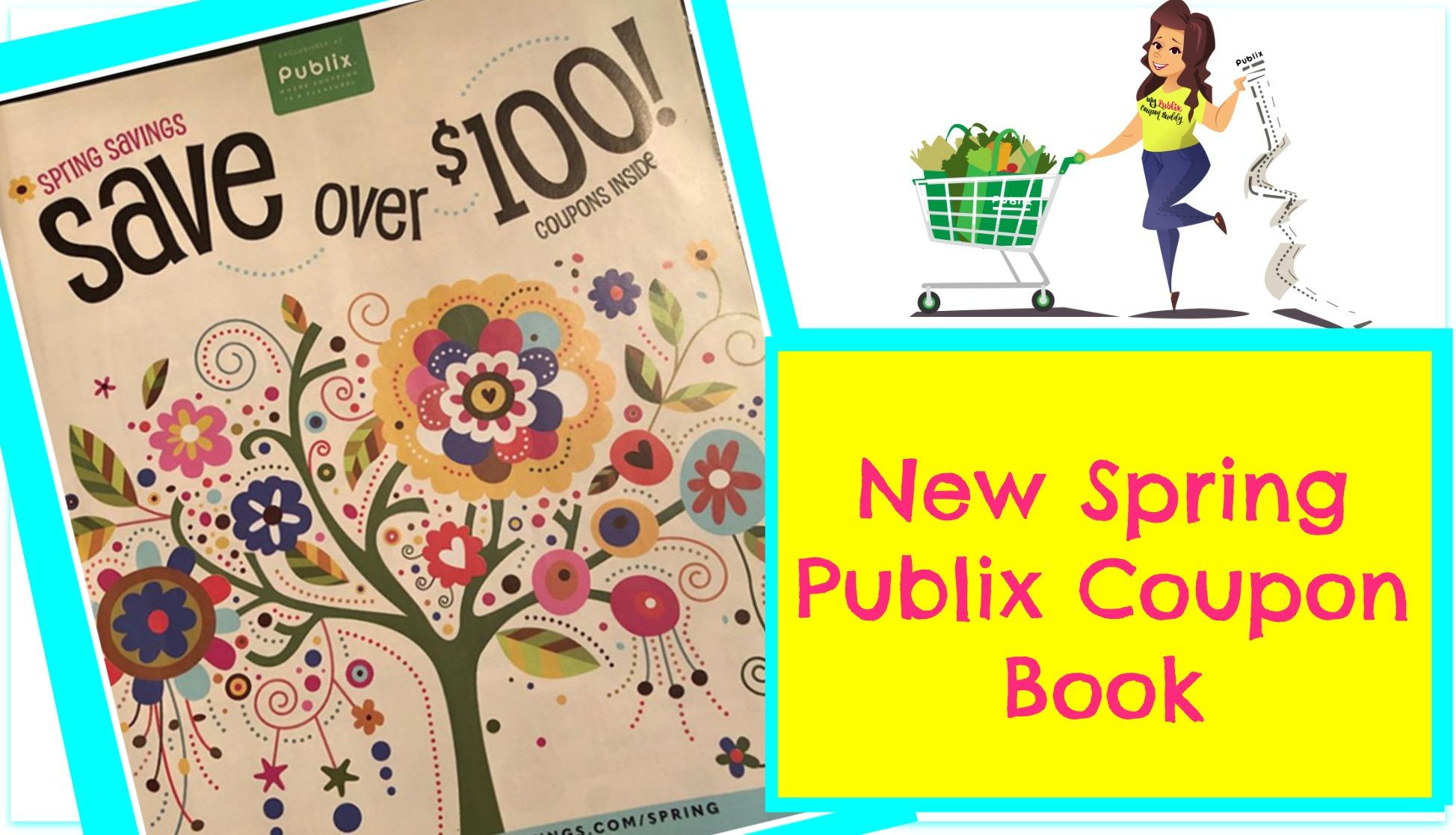 Publix Spring Coupon Book 3 24 4 22