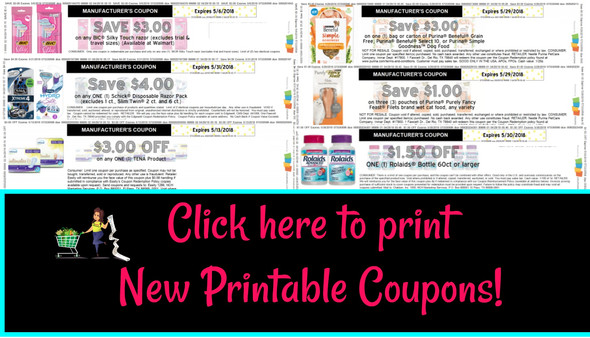 photo about Tena Coupons Printable titled Clean Printable Discount codes! Bic, Schick, Tena and additional