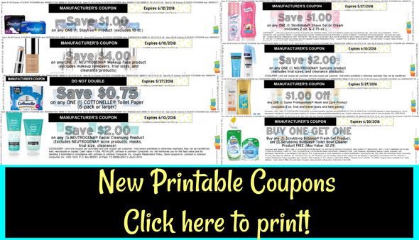 New Printable Coupons ~ Click here to print them all! | My